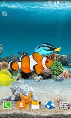 Живые обои для андроид аквариум скачать бесплатно 2