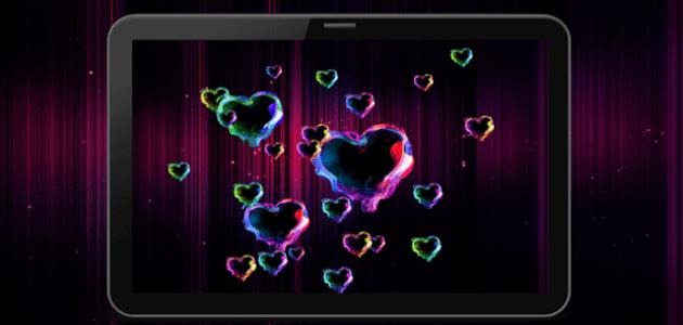 Скачать живые шпалеры Magic Hearts / Волшебные Сердца получи и распишись cмартфон равно планшет.